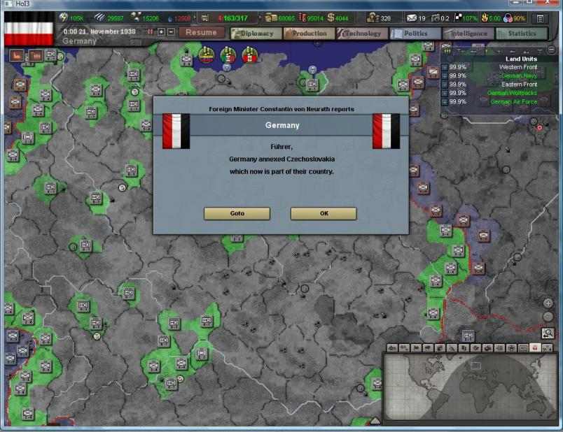 HOI3 AAR - Germany 1936 - Paradox Interactive Strategy Games