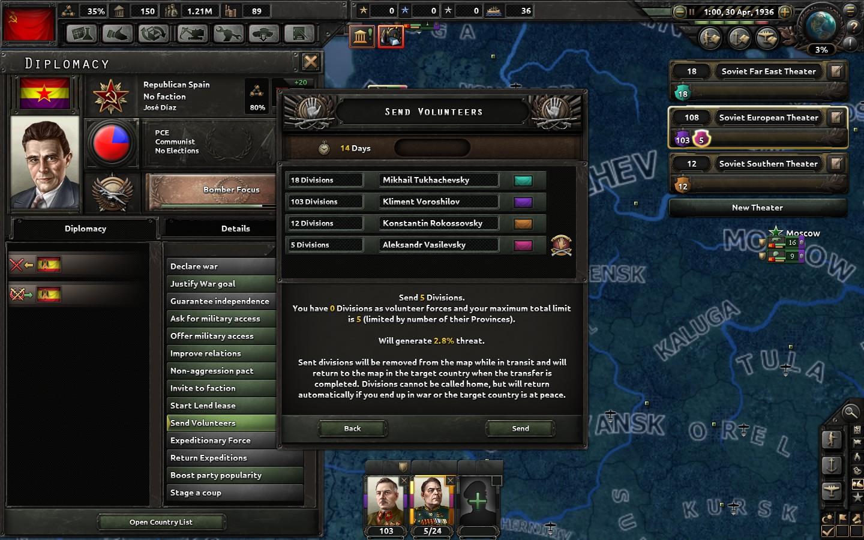 HOI4 - The Soviet Motherland - 1936 - Paradox Interactive Strategy